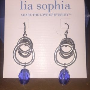 Retired Lia Sophia drop earrings